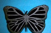 Barette de papillon