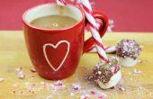 Chaud chocolat Dunk Festive, bricolage