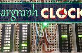 Barre graphique d'affichage horloge numérique