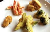 Tempura de légumes et Tofu