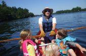 Comment ramer un canot pour la pêche ou l'exercice, le bon marché, chaloupe rapide