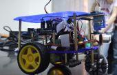 BRICOLAGE ligne autonome suivi avec Obstacle évitant Robot (Rover)
