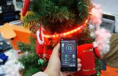 Smart Phone contrôlé l'arbre de Noël avec RGB LED Strip