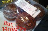 Protégez votre tablette à l'aide de muffins !