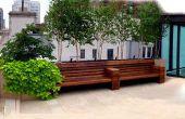 NYC toit terrasse Design : Patio de calcaire pour le Park Avenue