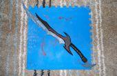 Skyrim : L'épée daedrique.