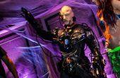 Locutus de Borg Costume (Cyborg) avec real robotique, lumières et son et 36 000 mAh de puissance!!