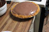 3.14 la couche Triple chocolat Brownie/gâteau/Pudding Pi
