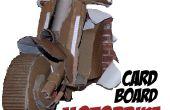 Faire une moto en carton 3D grandeur nature