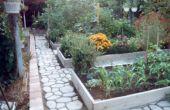 Une amélioration surélevé lit jardin