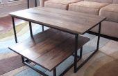 BRICOLAGE Table à café 2-Tier