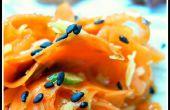 Chutney de noix de coco citronnelle carotte