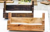 ÉTAGÈRES en bois de palette rustique bricolage