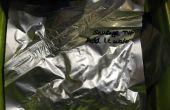 Sous vide des aliments déshydratés en mylar d'étanchéité