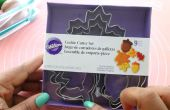 Automne feuille Toppers