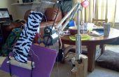 Faire un Stand d'artisanat par une lampe à bras oscillant
