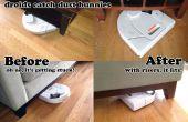 Élévateurs de meubles - aide nettoyage droïdes attraper plus moutons de poussière sous le canapé