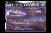 Revell 1:1200 échelle RMS Titanic Assemblée tutoriel