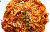 Les meilleurs spaghettis jamais!!