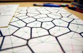 Diagrammes de Voronoï dessinés à la main