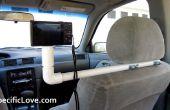 Comment faire une plate-forme de montage de caméra Simple PVC voiture