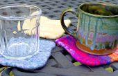 Accès rapide tricoté sous-verres