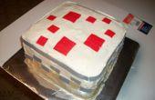 Faire un gâteau de Minecraft
