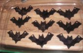 Shrinky Dink Bat colliers