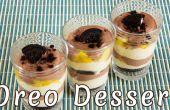 Super rapide Oreo, de mangue et de cacao Dessert crémeux