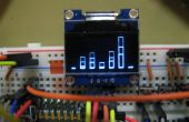 Analyseur de spectre OLED w/arduino & MSGEQ7