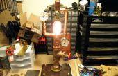 Lampe industrielle laiton
