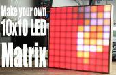 Réaliser votre propre matrice de LED 10 x 10