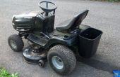 Pelouse tracteur porte-outil