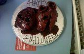 Gâteau coeur Halloween