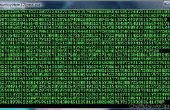 Comment faire un efect de matrice avec invite de commande