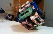 Sculpture de l'origami modulaire: 6 prismes rectangulaires