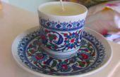 Bougies de tasse de thé