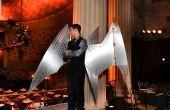 Arduino-contrôlée, aluminium Archange Costume ailes