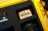 DIY Altoids Tin caméra affaire dessicant Pack