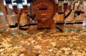 Bois carbonisé de whisky