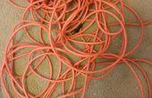 Roue porte-cordon d'Extension de fil