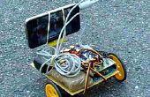Robot contrôlé par Skype à l'aide de smartphone et tonalités DTMF