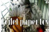 Les rouleaux de papier toilette recyclé en jouet perroquet super facile