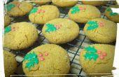 Décoré de houx chocolat Cookies