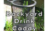 Cour arrière boisson Caddy