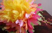 Fleurs en papier mexicain