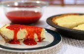 Gâteau au fromage aux fraises facile