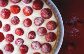 FRAISES & crème tarte (tarte aux fraises)