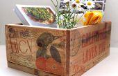 Caisses palettes & Inkjet Image Transfer au bois