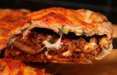 Deep Dish Pizza de bière croûte